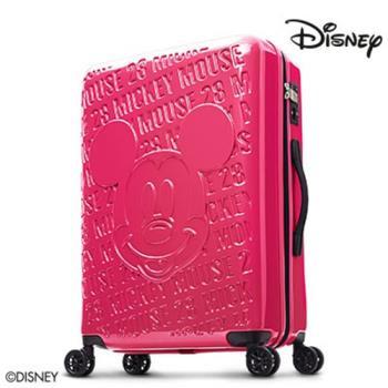 Deseno Disney 迪士尼 米奇 1928復刻浮雕 多色 鏡面拉鍊 24吋行李箱 送好禮 CL8655