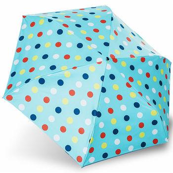 rainstory雨傘-彩色點點抗UV降溫口紅傘