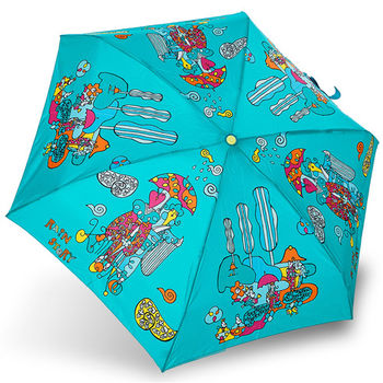 rainstory雨傘-雨中漫步抗UV迷你口袋傘