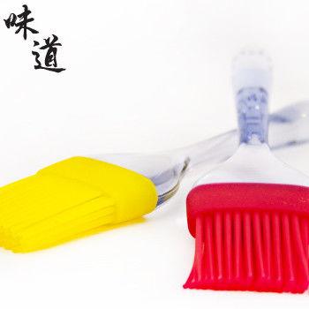 【味道】耐熱矽膠食物刷(耐熱200度C)-紅色