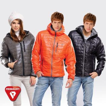 【SAMLIX山力士】PrimaLoft中性款中空科技棉保暖外套#65812