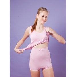 【Anapana】女士 舒適超高腰保暖內褲 有機棉褲