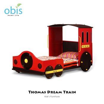 【obis】Kids Neverland 兒童單人床架-湯瑪士小火車