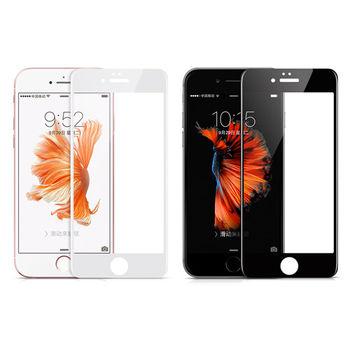 【hoco】Apple iPhone 6/6S 3D曲面滿版鋼化玻璃貼