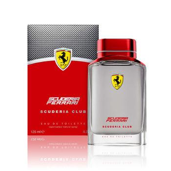 【Ferrari法拉利】Scuderia勁速聯盟男性淡香水(125ml)
