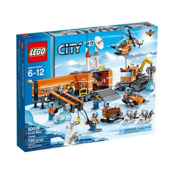 【LEGO 樂高積木】CITY 城市系列 - 極地基地 LT 60036