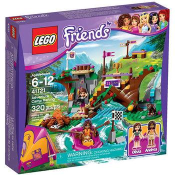 【LEGO 樂高積木】Friends 好朋友系列 - 冒險營泛舟 LT 41121
