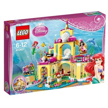 【LEGO樂高積木】Duplo 得寶系列 - 小美人魚的海底宮殿 LT 41063