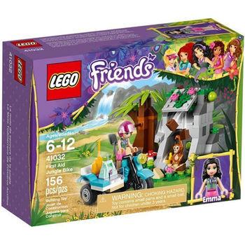 【LEGO 樂高積木】Friends 好朋友系列 - 急救叢林單車 LT 41032