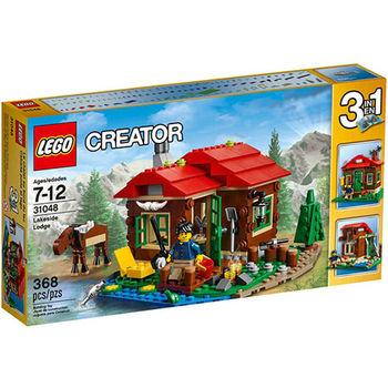 【LEGO樂高積木】Creator創作系列 - 湖畔小屋 LT 31048