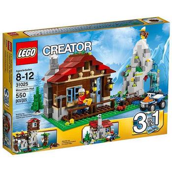 【LEGO樂高積木】Creator創作系列 - 山林小屋 LT 31025