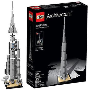 【LEGO 樂高積木】經典建築系列 - 杜拜哈利法塔 LT 21031