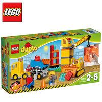 樂高~LEGO~得寶系列L10813 大型建築工地 Big Construction