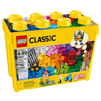 【LEGO樂高積木】Classic 經典系列 - 樂高大型創意拼砌盒桶 LT 10698