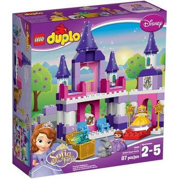 【LEGO 樂高積木】DUPLO 得寶系列 - 小公主蘇菲亞 皇家城堡 LT 10595