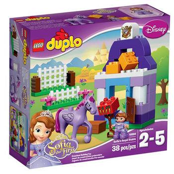 【LEGO 樂高積木】DUPLO 得寶系列 - 小公主蘇菲亞 皇家馬廄 LT 10594