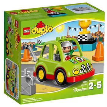 【LEGO 樂高積木】DUPLO 得寶系列 - 拉力賽車 LT 10589