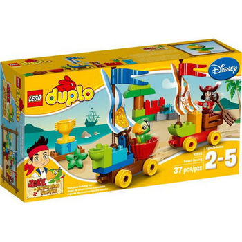【LEGO 樂高積木】DUPLO 得寶系列 - 沙灘競速賽 LT 10539