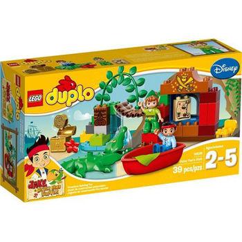 【LEGO 樂高積木】DUPLO 得寶系列 - 傑克與夢幻島海盜(小飛俠到訪) LT 10526
