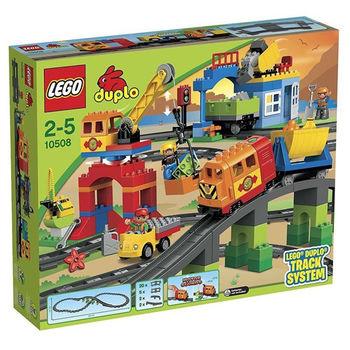 【LEGO 樂高積木】DUPLO 得寶系列 - 豪華火車套裝 LT 10508