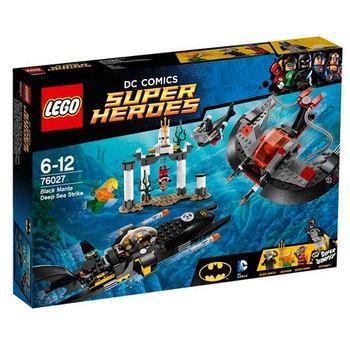 【LEGO 樂高積木】Super Heros 超級英雄系列 - Black Manta 深海攻擊 LT 76027