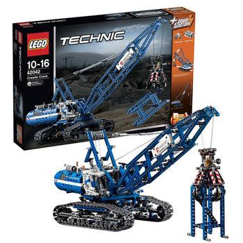 【LEGO 樂高積木】Technic 科技系列 - 履帶式起重機 LT 42042