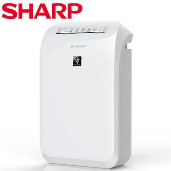 送好禮【SHARP夏普】空氣清淨機 FU-D50T-W