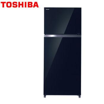 【TOSHIBA東芝】 468公升變頻冰箱GR-HG52TDZ(XK)雅典黑