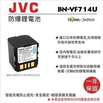 ROWA 樂華 FOR JVC BN-VF714U BNVF714U 電池