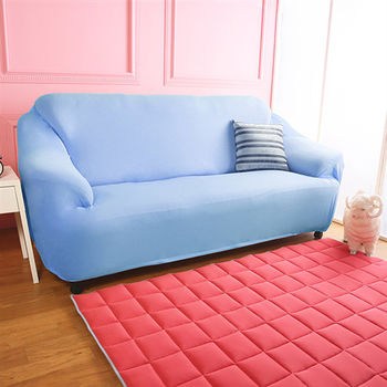 【HomeBeauty】涼感防蚊日本大和彈性沙發罩-3人座(八色可選)