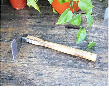 [協貿國際]不鏽鋼鋤頭 木柄寬鋤 刨土挖土松土鏟 花園陽台種植工具園藝工具