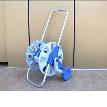[協貿國際]手推式水管車架收納水車澆花洗車架洗車器 園藝工具繞管架一組價