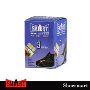 【鞋之潔】SHOESMART三節式海棉鞋擦 輕便攜帶 快速閃亮