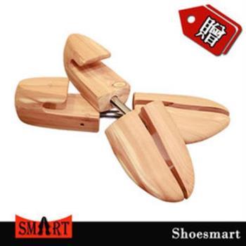 【鞋之潔】SHOESMART 666M日本香柏木鞋撐 消除鞋內異味吸收腳汗濕氣 限時買一送一