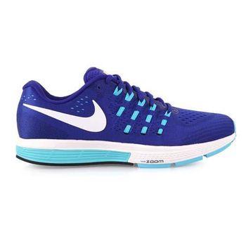 【NIKE】AIR ZOOM VOMERO 11男慢跑鞋- 路跑 訓練 寶藍白