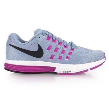 【NIKE】AIR ZOOM VOMERO 11女慢跑鞋- 路跑 健身 淺灰紫