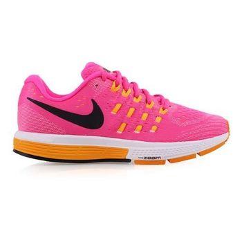 【NIKE】AIR ZOOM VOMERO 11女慢跑鞋- 路跑 健身 桃紅橘