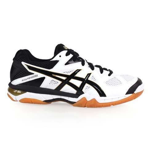 【ASICS】GEL-TACTIC 男排羽球鞋- 排球 羽球 亞瑟士 白黑芥末黃