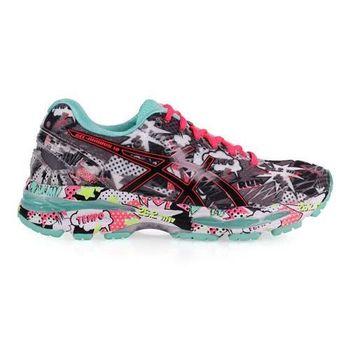 【ASICS】GEL-NIMBUS 18 女慢跑鞋-路跑 健身 亞瑟士 灰湖水綠