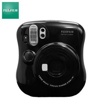 【雙底片超值組】 FUJIFILM 富士 INSTAX MINI 25 拍立得相機 (平輸貨) 黑 / 白
