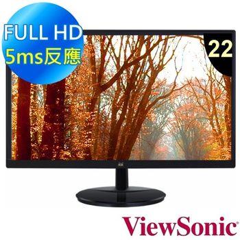 ViewSonic 優派 VA2259 22型 Full HD多媒體顯示器