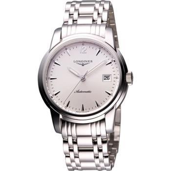 LONGINES Saint-Imier 機械腕錶-銀/39mm L27634726