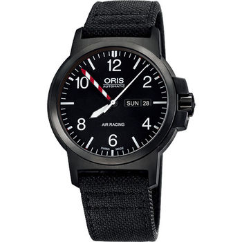 Oris Air Racing Edition III BC3限量機械腕錶-黑/42mm 735.7641.4794-set