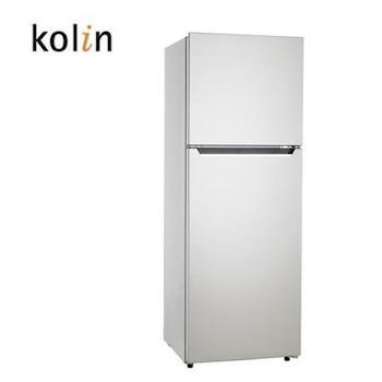 買就送-【Kolin歌林】230L雙門電冰箱KR-223S01(含拆箱定位)
