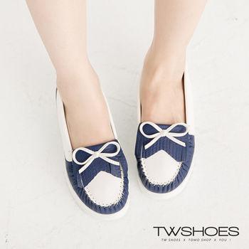 【TW Shoes】簡約朵結流蘇莫卡辛鞋(K110I2688)