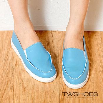 【TW Shoes】舒適漫步素色懶人鞋(K120A3292)