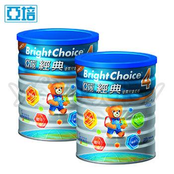 亞培經典4號優質成長奶粉1.65kg(3-7歲)x2罐