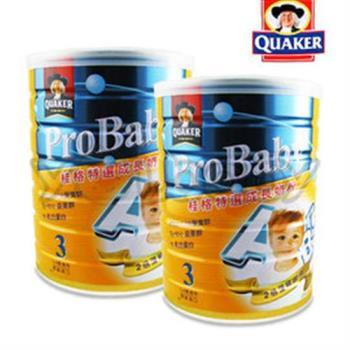 桂格 QUAKER 特選成長奶粉-(新)藻精蛋白配方1.5kg x2罐