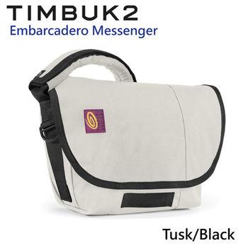 【美國Timbuk2】Embarcadero Messenger 郵差包-Tusk/Black (XS)