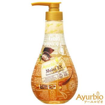 Ayurbio 黃金植萃亮澤保濕 洗髮精 520ml